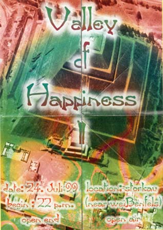 Flyer valley of hapiness – open air