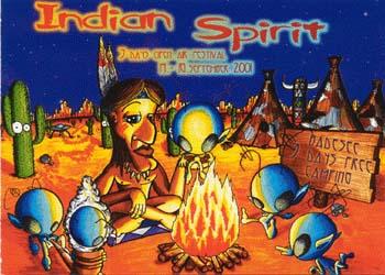 Flyer indian spirit open air