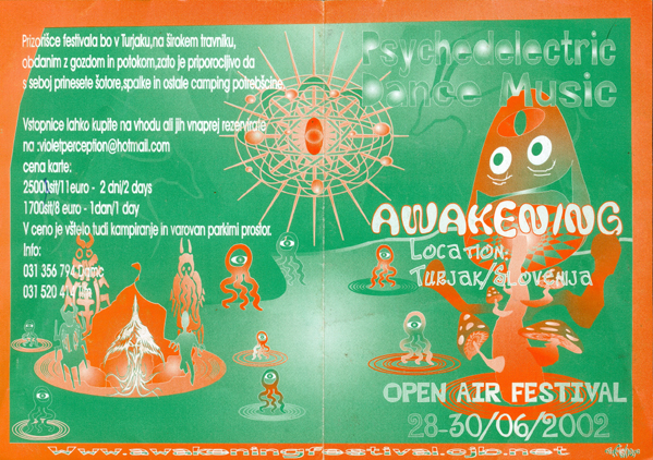 Flyer awakening – open air festival
