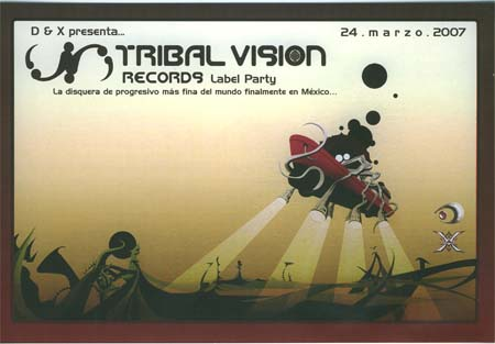 Flyer tribal vision