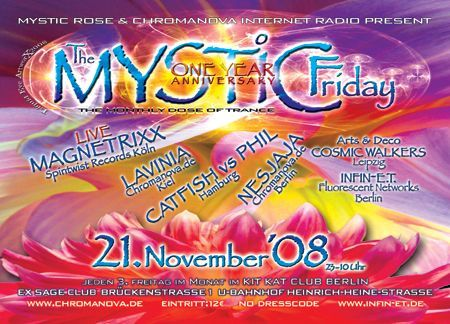 Flyer the mystic friday