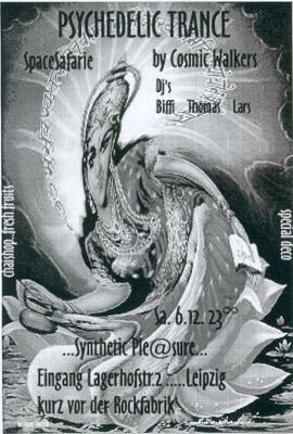 Flyer spacesafarie by cosmicwalkers