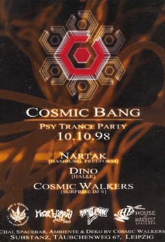 Flyer cosmic bang 1998/10