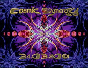 Flyer cosmic synergy